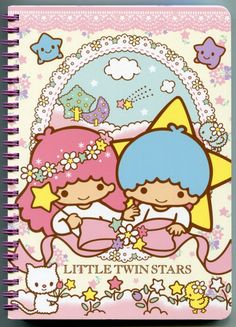 """Notebooks"": Little Twin Stars spiral notebook, as courtesy of Sanrio"