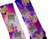 Cotton Candy GALAXY Custom Nike Elite Socks by FreshElites on Etsy