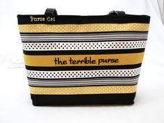 Grosgrain Ribbon The Terrible Purse by PurseCat on Etsy https://www.etsy.com/listing/262393209/grosgrain-ribbon-the-terrible-purse