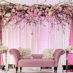 Celebrate the beginning of spring with this beautiful and extravagant cherry blossom themed wedding!
