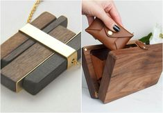 drevené módne doplnky