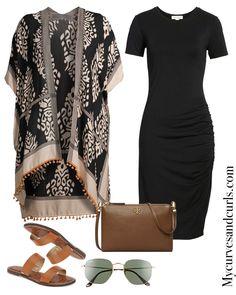 How to wear a kimono with a dress