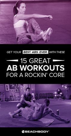 Get your best core ever with these 15 simple ab workouts from Beachbody's best programs.