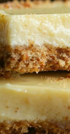 A favorite key lime dessert recipe! Pretzel Crusted Key Lime Bars: the perfect balance of salty & sweet, with a creamy filling and crunchy pretzel crust. Key Lime Desserts, 13 Desserts, Great Desserts, Delicious Desserts, Dessert Recipes, Yummy Cookies, Bar Cookies, Cookie Bars, Key Lime Cookies