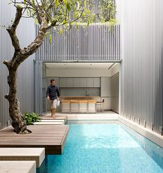 Interior Courtyard by Ong & Ong