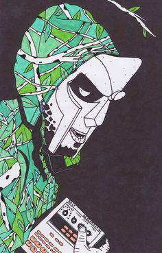 MF Doom, one of my favourite MCs.