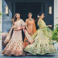 How WMG shows support for the #Indiapak match - tricolour brides !!! 😀 Outfits @taruntahiliani photo @abhinav_art #lehenga #tricolor #indiapak #green #whte #saffron #bridal #indianbride #bridalfashion #couture #love #beautiful Indian Wedding Bride, Indian Wedding Fashion, Indian Bridal Outfits, Desi Wedding, Pakistani Outfits, Wedding Wear, Bridal Looks, Bridal Style, Mehndi Outfit