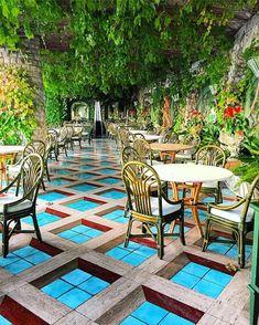Grand Hotel Capodimonte, Sorrento, Italy Outdoor Furniture Sets, Outdoor Decor, Grand Hotel, Travel Photos, Sorrento Italy, Patio, Explore, Places, Summer