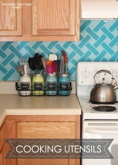 Captivating Clever Kitchen Utensil Storage Idea For A Clean Counter Top | Organize Your  Home, Or Good Looking