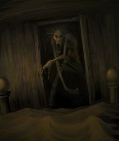 For All Things Creepy Arte Horror, Horror Art, Dark Fantasy, Fantasy Art, Arte Zombie, Images Gif, Web Images, Arte Obscura, Creepy Horror