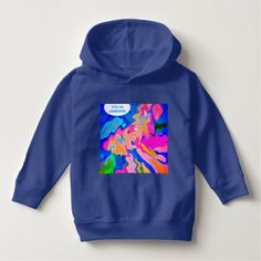 YOUR NAME Puppy Art warm Toddlers Pullover Hoodies - diy cyo customize create your own personalize