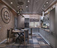 Кухня. Лофт