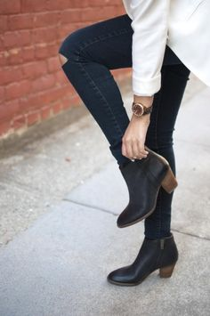 emeraldcitydreams: Madewell Billie Boots   Sunkissed Steph