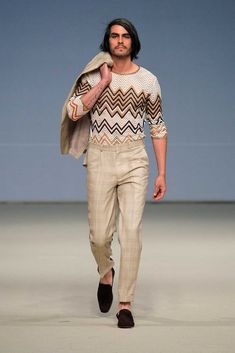 Male Fashion Trends: Noe Bernacelli Spring-Summer 2018 - Lima Fashion Week #casualmalefashion,