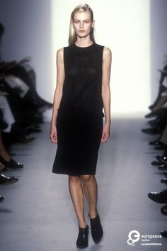 Calvin Klein, Autumn-Winter 1997, Womenswear on www.europeanafashion.eu