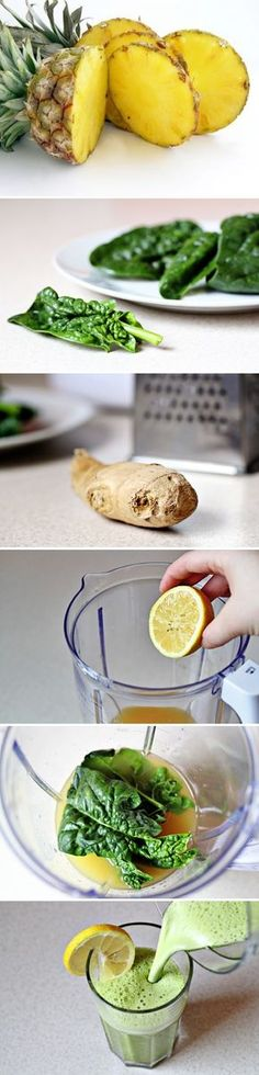 Detox Smoothie.   This is a great mid-day drink 2 hours before or after a work-out.