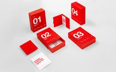 """Corporate branding forHelvetia Trust, designed by Anagrama""""Helvetia Trust is a Swiss-Mexican financial banking firm offering business integration services with a global focus that will be opening later this year.Our branding proposal conveys the security and business values of the firm and communicates its Swiss influence with the use of contextual graphics and typographic choices. The brand is complemented with a stylized Greek cross that characterizes Switzerland's flag, a manifestation…"""