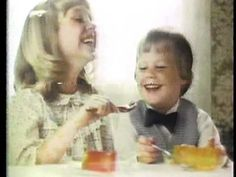 Quivering family fun in this vintage 1981 television ad for Jello. High School Years, Happy 30th Birthday, Do You Remember, Tv Commercials, Jello, Childhood Memories, Growing Up, The Past, Tv Shows