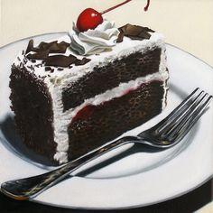 Chocolate. Cake