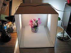 Building a Homemade Photo Light Box