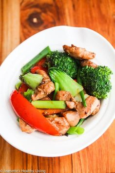 Chinese Stir Fry Chicken and Vegetables - this healthy stir fry is so much better than takeout - the Chinese stir fry sauce is the secret