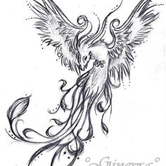 phoenix tattoos for men | Phoenix tattoo designs are popular among people who have struggled to ...