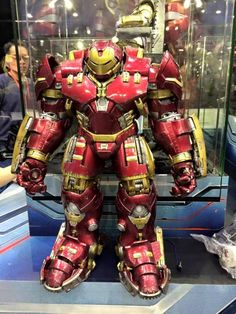 Hot Toys Hulkbuster Iron Man Figure Toy Soul 2014