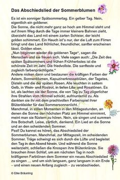 Das Abschiedslied der Sommerblumen * Elkes Kindergeschichten im Sommer Best Picture For art Teacher Resources For Your Taste You are looking for something, and it is going to tell you exactly what you Art Education Resources, Science Education, Elementary Education, Teacher Resources, Stories For Kids, Summer Flowers, Educational Technology, To Tell, Storytelling