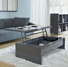 Aurora Coffee Table And TV Tray From EuroStyles