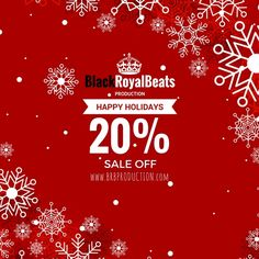 Limited time only SALE OFF 20% - www.brbproduction.com Buy a top beat for your top song ! BlackRoyalBeats Production