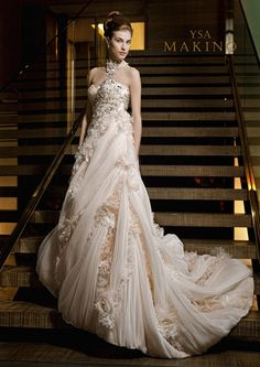 YSA Makino wedding gowns @ Catan Fashions | Strongsville OH| Largest bridal salon in America| Find the dress of your dreams| www.catanfashions.com #CatanBride