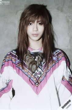 Taemin - 'Sherlock' <3 I honestly think he looked his best with this hairstyle O_O It's gorgeous <3