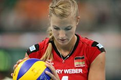 Maren Brinker, volleyball player from germany