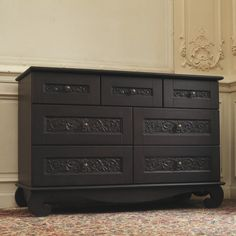 Bart Scott, NFL Linebacker has this espresso dresser/changer in his daughter's room. Purchased at Jack and Jill Boutique.