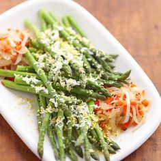 Diabetes Power Foods: Asparagus with Red Peppers