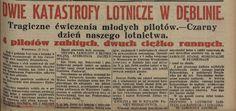 Dwie katastrofy lotnicze nad Dęblinem, 25.07.1931 r.