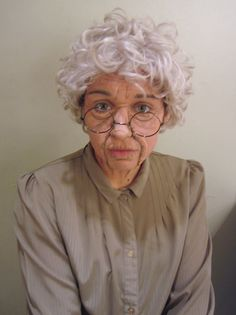 Stage Makeup: Extreme Old Age