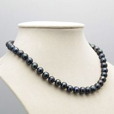 Cheap Choker Necklaces, Buy Quality Jewelry & Accessories Directly from China Suppliers:Nice 8 Black Tahitian Natural Pearl Necklace 18 Cheap Choker Necklace, Beaded Necklace, Pendant Necklace, Earrings, Necklaces, Tahitian Pearl Necklace, Tahitian Pearls, Jewelry Sets, Jewelry Accessories