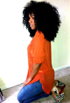 Big and curly! Love!