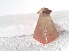 star man brass brooch * http://www.creema.jp/exhibits/show/id/465783