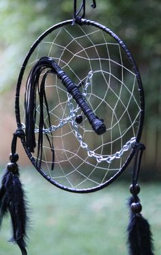 This dreamcatcher is extra special.... giggles... customized under the full moon for all your naughty dreams ;-)    LOL.. I can't stop laughing .. I crack myself up sometimes!