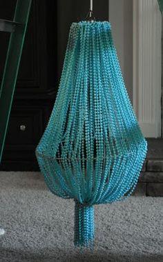 wedding idea......diy chandelier tutorial