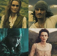 Pirates of the Caribbean | Dead Men Tale No Tales | Will Turner and Elizabeth Swann
