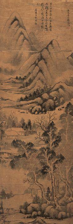 Huang Gongwang(黄公望) ,  山水