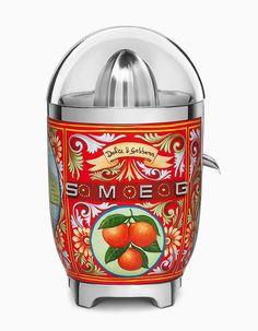 Smeg kitchen appliances get vibrant remix by Dolce