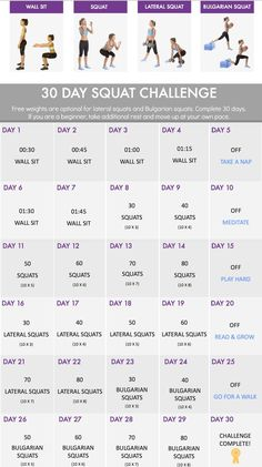 30 Squat challenge