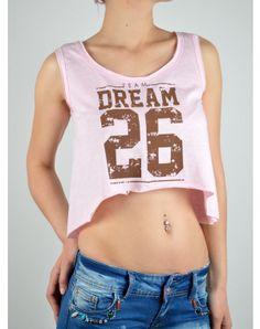 Γυναικεία Ρουχα Pink Ladies, Crop Tops, Fashion, Moda, Fashion Styles, Fashion Illustrations, Cropped Tops, Crop Top Outfits
