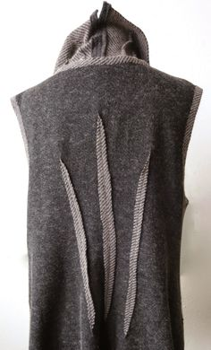 Diane Ericson Design--I LOVED DARTS ON THE OUTSIDE ALREADY, BUT SLIT AND PRESSED--YES!!!