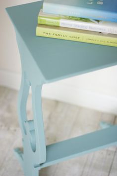 Antique shabby chic upcycled side table