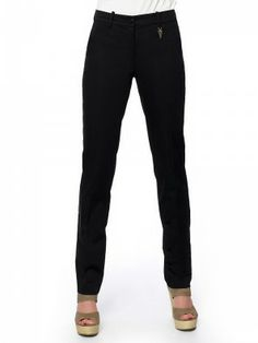 #black_pants#long everywhere! Slim Fit Pants, Long Pants, Workout Pants, Black Pants, Jeans, Fitness, Fashion, Stocking Tights, Black Slacks